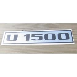 Unimog U1500...