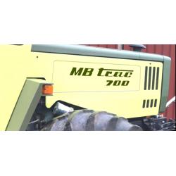 MB-TRAC 700 Aufkleber Set...