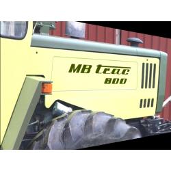 MB-TRAC 800 Aufkleber Set...